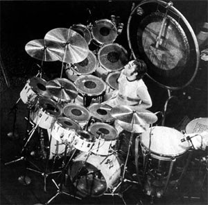 Keith Moon stort trumset